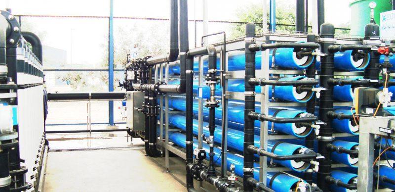 nhà máy tái sử dụng nước